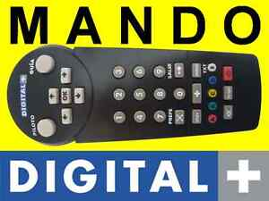 Mando a distancia digital plus deco decodificador d - Deco digital plus ...