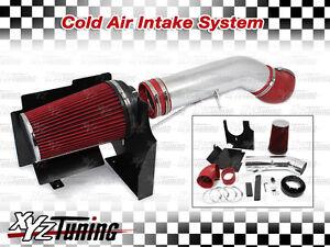 4-RED-2004-2005-2006-Yukon-Suburban-4-8L-5-3L-6-0L-Heat-Shield-Cold-Air-Intake