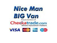 Removals - Nice man BIG van - van man storage services- Man and van Brighton East Sussex