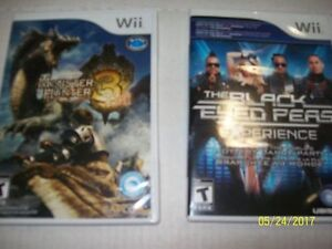 For sale numerous Wii games