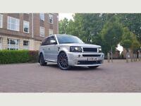 Land Rover Range Rover Sport 2.7 TD V6 HSE SUV 5dr Diesel Automatic((W.MILEAGE+SAT NAV+7M MOT))