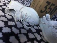 legit yeezy 350 boost cream white size 6.5