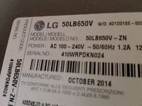 For SALE 50'' LG 3D TV (Collection Only)