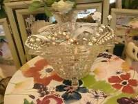 Vintage Glass Vase bowl Now £10