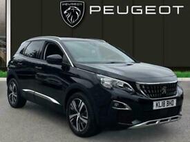 image for 2018 Peugeot 3008 1.2 Puretech Allure Suv 5dr Petrol Eat s/s 130 Ps Auto Estate