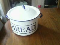 Bread bin.