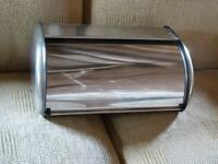 Stainless Steel Bread Bin Collection - Brighouse Good condition Any questions please ask