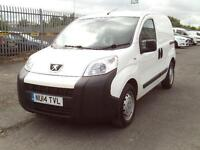 Peugeot Bipper 1.3HDI 75ps Plus Pack DIESEL MANUAL WHITE (2014)