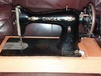 Antique Singer sewing machine model 13K 1930