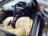 AUDI A3 not golf, bmw, sport (FULL LEATHER, UPGRADED ALLOYS)