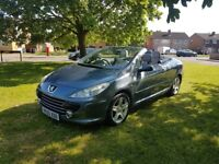 Peugeot 307 CC 2.0 HDI Sport 2dr ONLY 80.900 on the clock. Diesel, manual, service history.