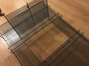 Reptile Cage Topper 2x doors, for terrarium