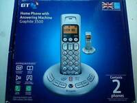 Twin BT cordless handsets (Reconditioned)