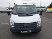 Ford Transit Chassis Cab Tdci 100Ps [Drw] Euro 5 DIESEL MANUAL WHITE (2012)
