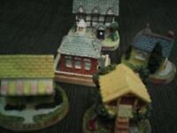 Tetley tea miniature houses