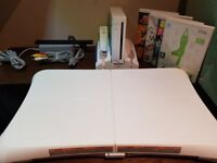 Nintendo Wii Bundle With Wii Fit Balance Board & Games Wii Console