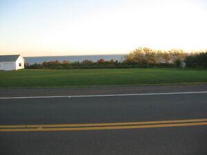 Terrain avec vue sur la Baie des Chaleurs