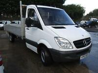 Mercedes-Benz Sprinter 313 CDi LWB Dropside DIESEL MANUAL WHITE (2013)