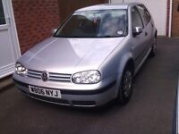 VW Golf 1.6se 5 door Petrol
