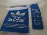Adidas zipped training top size XL