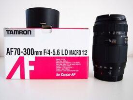 Tamron AF 70-300mm F/4-5.6 LD Macro 1:2