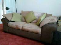 Good quality, large, two seater sofa. £65.