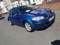 Renault megane 1.5 diesel £30 a year tax 9mouths mot gun runner selling due to new car