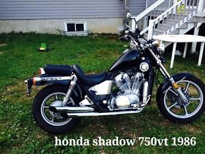 Honda shadow 1986