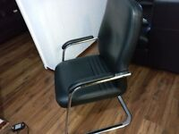 Luxury Leather Boardroom Armchairs - Great Condition