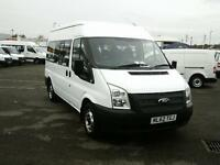 Ford Transit T430 MINIBUS MEDIUM ROOF 9 SEATER TDCI 125PS DIESEL WHITE (2012)