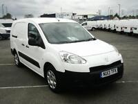 Peugeot Partner L2 716 1.6 HDI 92BHP CREWVAN DIESEL MANUAL WHITE (2013)
