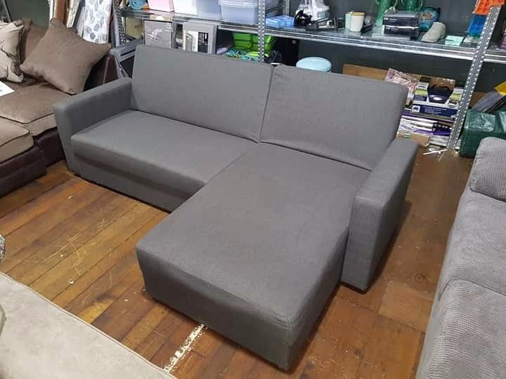 Corner Sofa BedLarge Charcoal Corner Sofa BedIncluding StorageBRAND NEWin Bolton, ManchesterGumtree - Corner Sofa Bed Large Charcoal Corner Sofa Bed Including Storage (BRAND NEW) This is a large corner sofa bed in charcoal, collection is available. The sofa is brand new and includes storage underneath, the item is brand new and normally retails for...