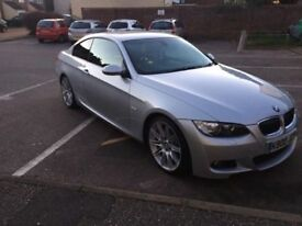 BMW 325 D MSPORT 3.0 LITRE ENGINE PADDLE SHIFT PRIVATE PLATE