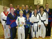 Tae Kwon-Do, FIRST LESSON FREE, Classes for Ladies, Gentlemen, Children and Families