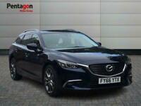 2016 Mazda Mazda6 2.0 Skyactiv G Sport Nav Estate 5dr Petrol s/s 165 Ps Estate P
