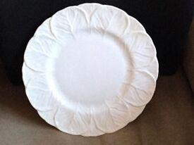 white coalport plates