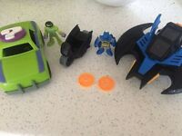 Imaginext Batman Riddler Vehicle bundle