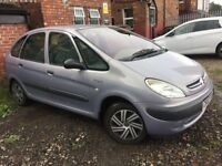 CITROEN PICASSO 1.6 2002 8 MONTHS M.O.T DRIVES WELL
