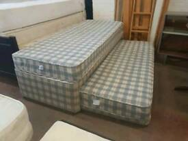 Single guest bed with mattress good condition