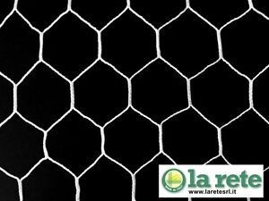 """New Laurentian 6'6"""" x 12' Replacement Soccer Nets (Pair)"""