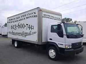 Around the clock movers 613-600-7442
