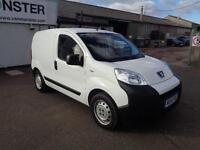 Peugeot Bipper 1.3 Hdi 75 S [Non Start/Stop] DIESEL MANUAL WHITE (2014)