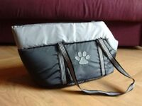 Brand new dog carry bag - a comfortable ride for your lazy pooch!