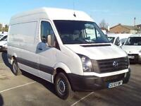 Volkswagen Crafter CR35 MWB 2.0 TDI 109PS H/R DIESEL MANUAL WHITE (2013)