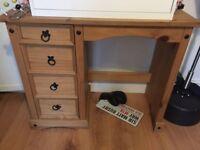 Corona 4 drawer dressing table/desk