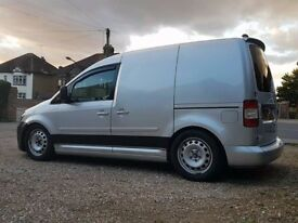 Volkswagen Caddy Van - 2.0TDI 140 - Reflex Silver - Leather Interior