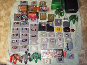 Nintendo game collection plus others