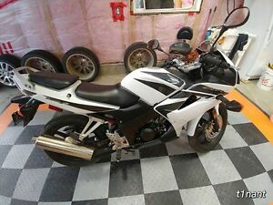 SHARP CBR125 WHITE LOW LOW LOW KM