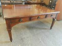 Large six drawer coffee table