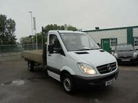 Mercedes-Benz Sprinter 313 CDI 3.5T Chassis Cab DROPSIDE DIESEL MANUAL (2013)